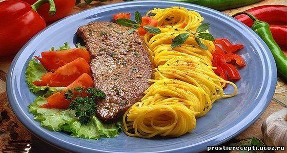 Блюдо с маринованным луком